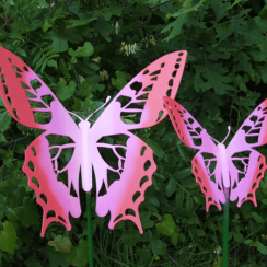 Die Cut wing butterflies