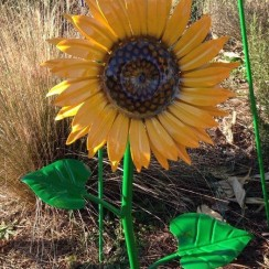 Painted 2' Sunflower