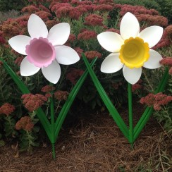 Painted Metal Daffodil