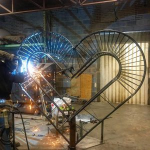 Welding Heart of Downtown 3
